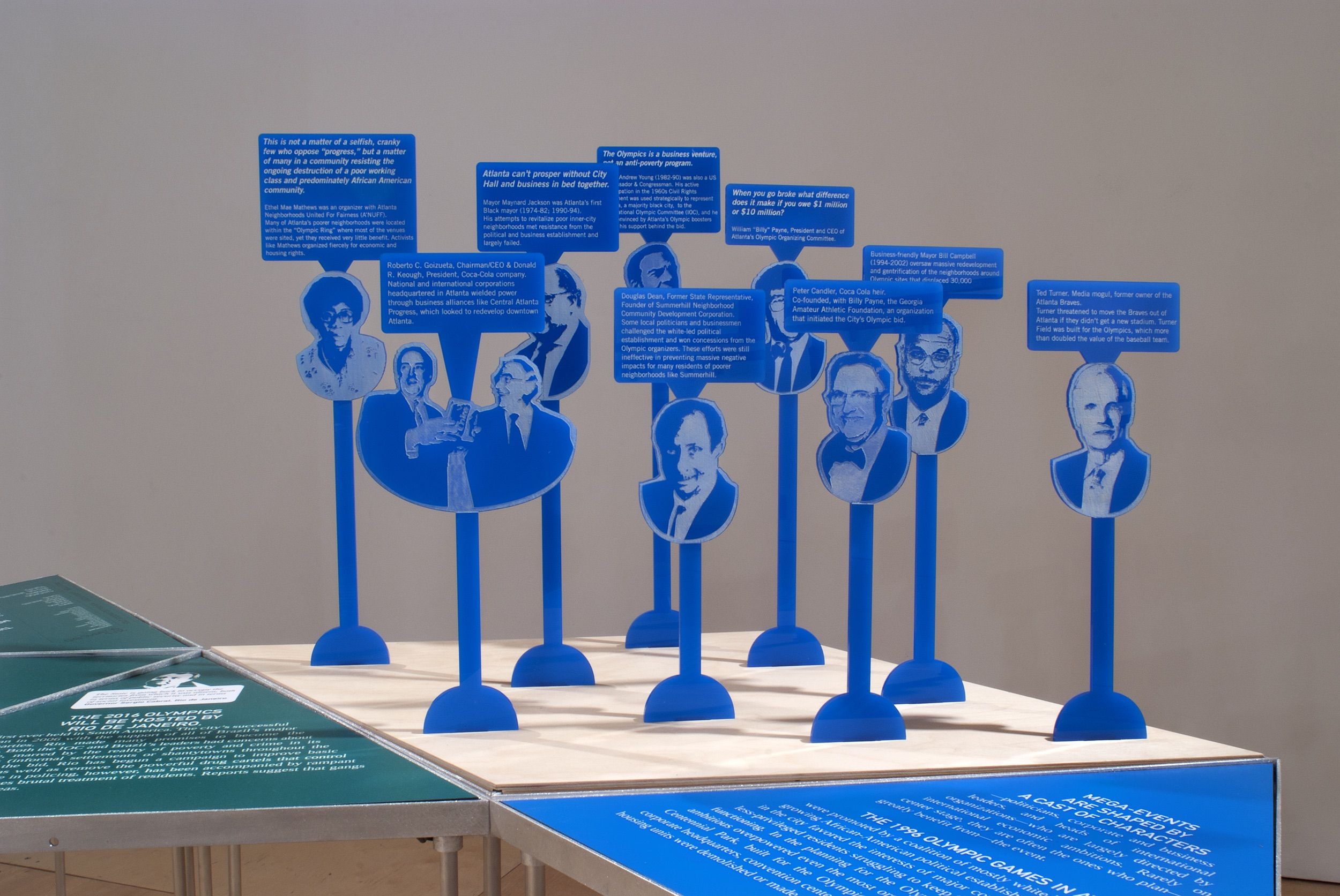 Installation at Gallery 400, UIC 2012