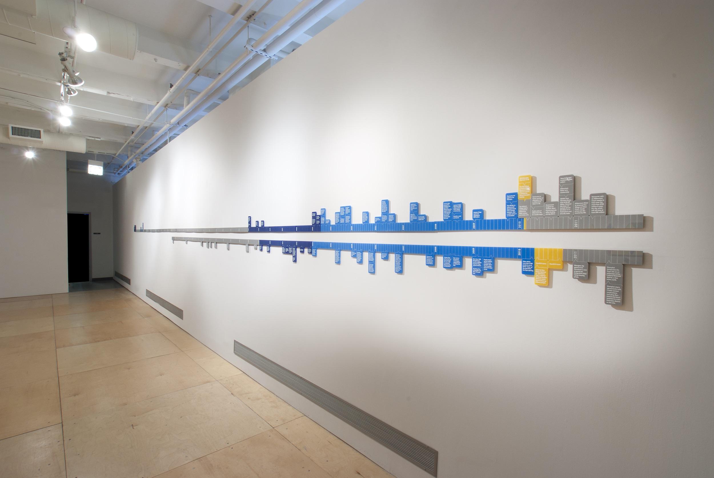 Installation at Gallery 400
